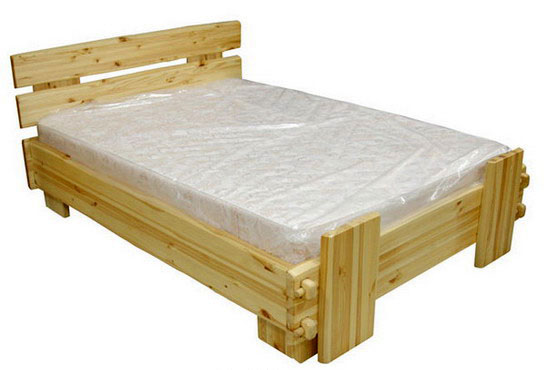 Сделать кровать из сосны